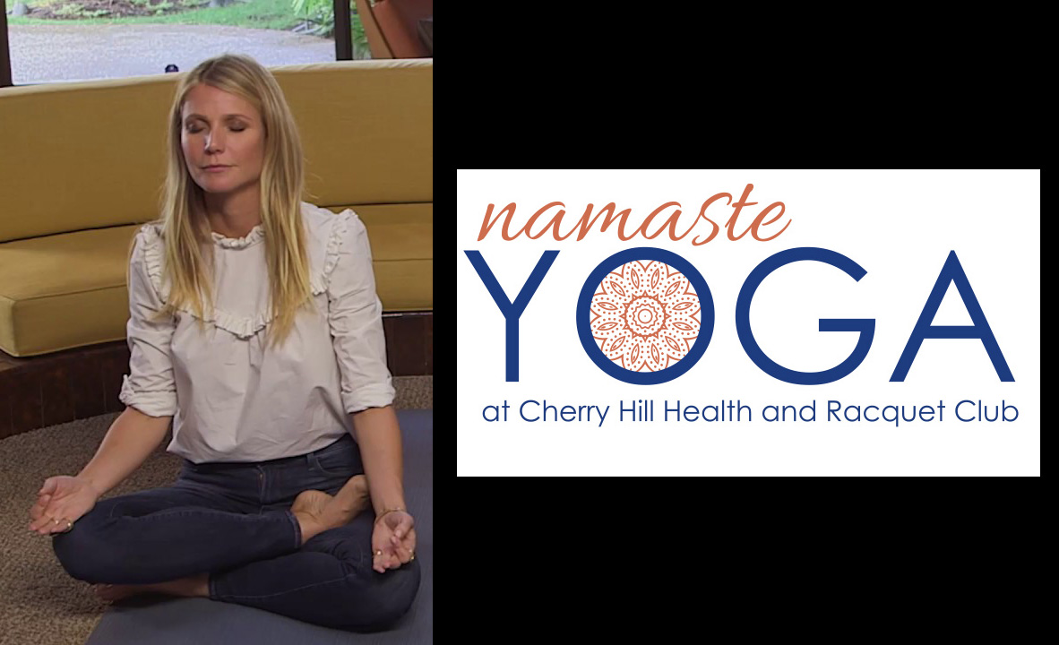 Namaste Yoga classes at our Cherry Hill gym