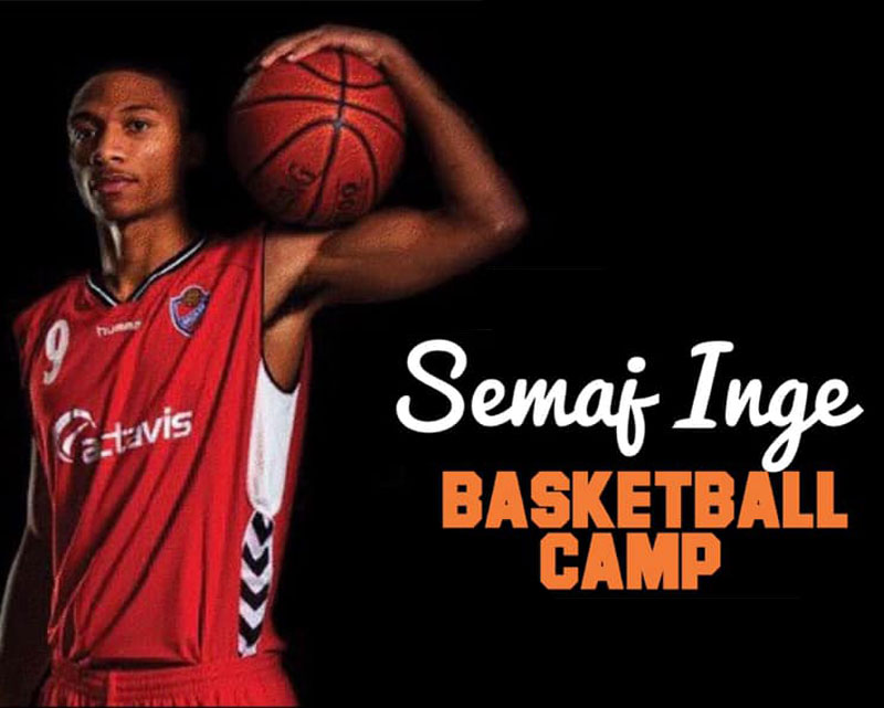 Youth basketball camps in Cherry Hill featuring Semai Inge