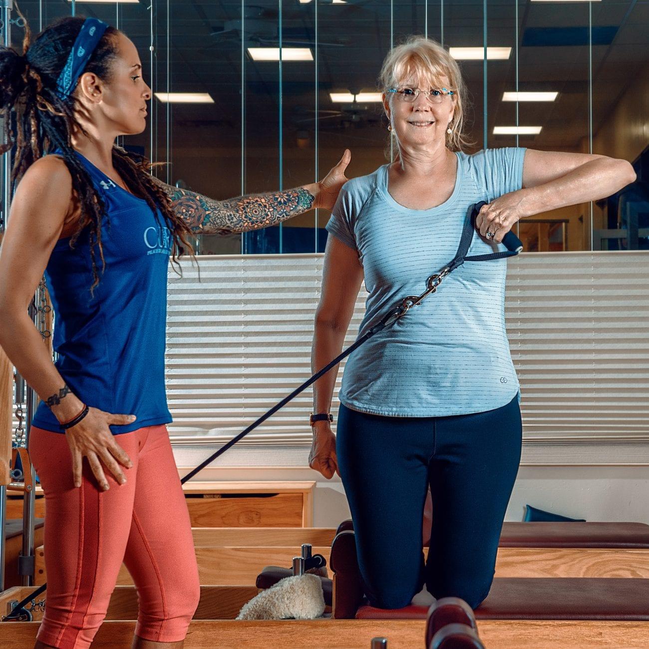 Senior Pilates classes in Cherry Hill