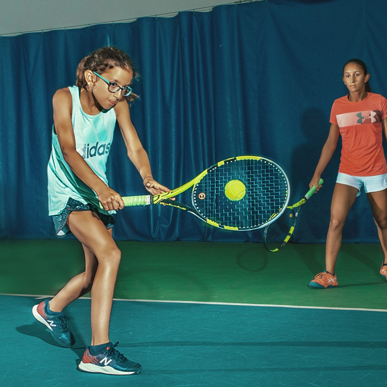 Tennis lessons for kids in Cherry Hill
