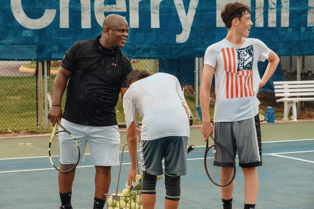 Junior tennis lessons and tennis leagues in Cherry Hill